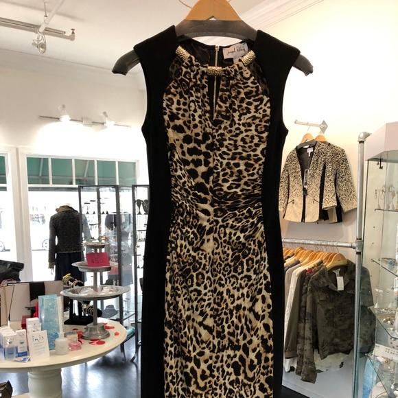 5d9f6a44f8eb Joseph Ribkoff Dresses | Leopard Print Dress | Poshmark